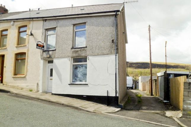 Thumbnail End terrace house to rent in Glynfach -, Porth