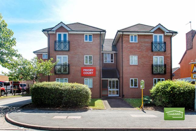 Thumbnail Flat for sale in Priory Court, Lichfield Road, Walsall Wood