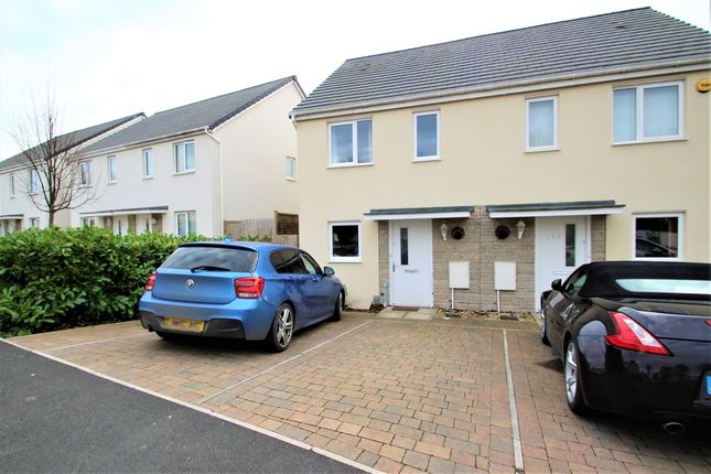 Thumbnail Semi-detached house to rent in Foliot Road, Plymouth
