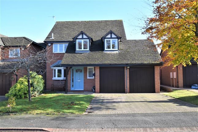 Thumbnail Detached house for sale in Woodstock Crescent, Dorridge, Solihull