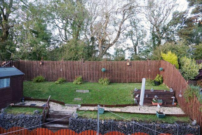 Rear Gardens of Vryburg Crescent, Lindsayfield East Kilbride G75