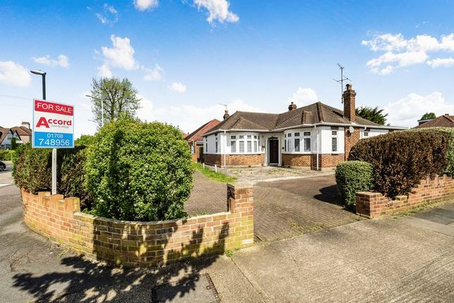Thumbnail Detached bungalow for sale in Pettits Lane North, Romford