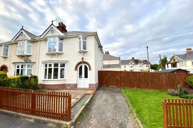 Thumbnail Semi-detached house to rent in Middlemead Road, Tiverton