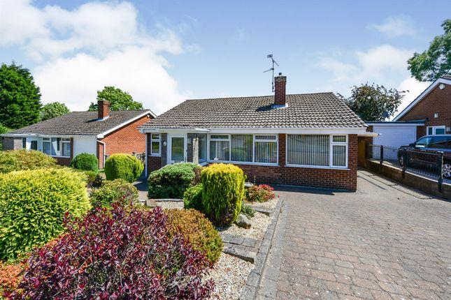 Thumbnail Detached bungalow for sale in Heathfield Gardens, Tibshelf, Alfreton