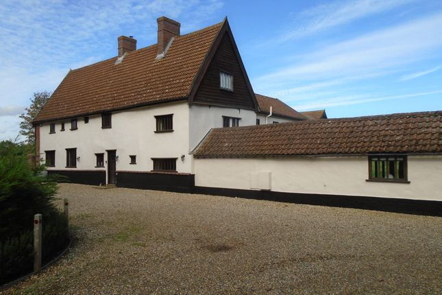 Thumbnail Detached house for sale in Long Row, Tibenham, Norwich