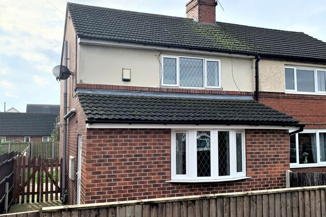 Thumbnail Semi-detached house to rent in Lund Lane, Lundwood, Barnsley