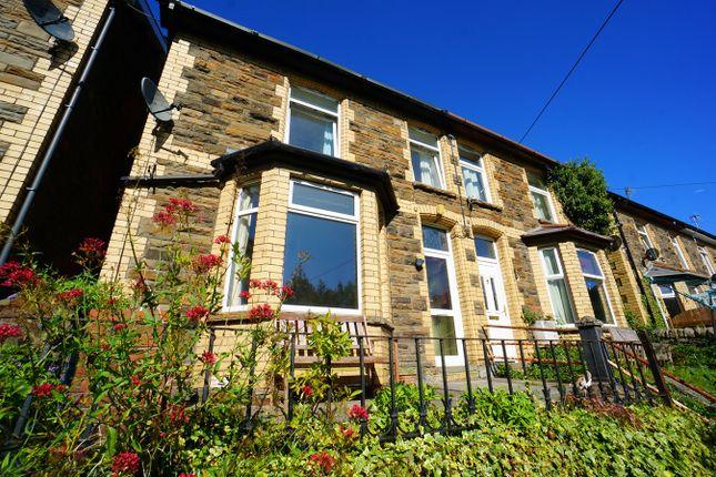 Thumbnail Semi-detached house for sale in Hafod Tudor Terrace, Cross Keys, Newport