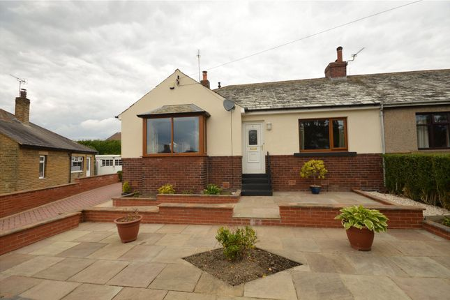Thumbnail Semi-detached bungalow for sale in Ackworth Crescent, Yeadon, Leeds, West Yorkshire