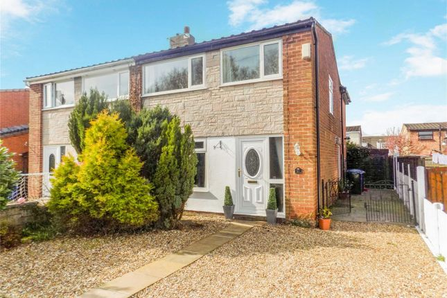 Thumbnail Semi-detached house for sale in Clancutt Lane, Coppull, Chorley, Lancashire