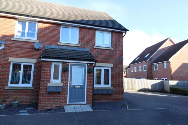 3 bed end terrace house to rent in Griffen Close, Bridgwater TA6