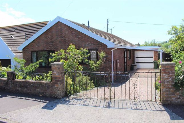 Thumbnail Detached bungalow for sale in Meadow Croft, Southgate, Swansea
