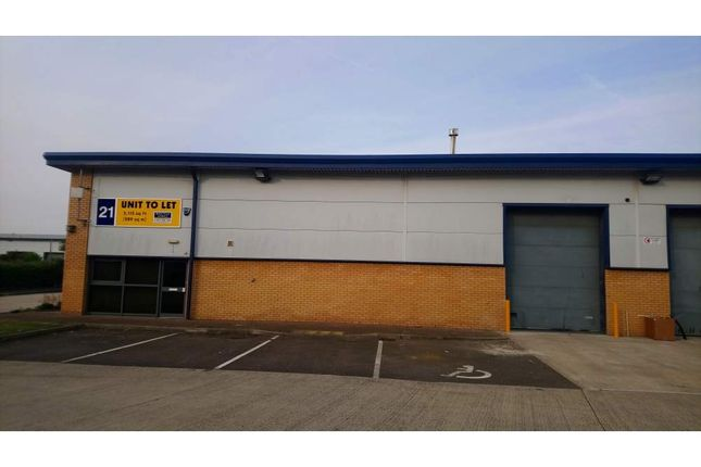 Thumbnail Light industrial to let in Unit 21 Aspen Way, Rotherham