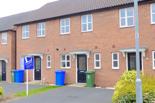 Thumbnail Town house to rent in Blackshale Road, Mansfield Woodhouse, Nottinghamshire