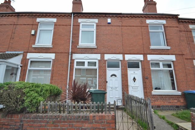 Thumbnail Terraced house to rent in St. Michaels Road, Coventry