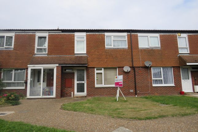 Thumbnail Terraced house to rent in Croxden Way, Eastbourne