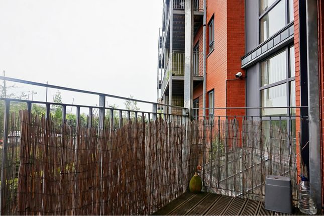 Balcony of 4 The Waterfront, Manchester M11