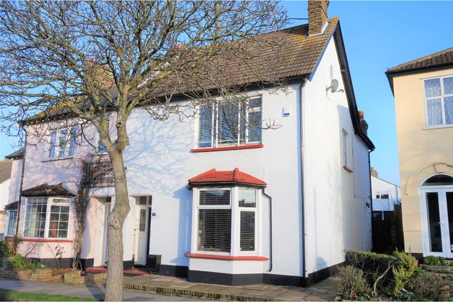 3 bed semi-detached house for sale in Recreation Avenue, Leigh-On-Sea