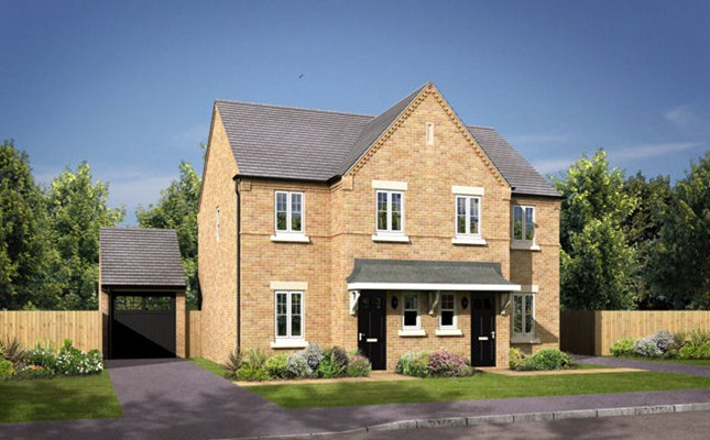 Thumbnail Semi-detached house for sale in The Didsbury, Brindle Avenue, Coventry