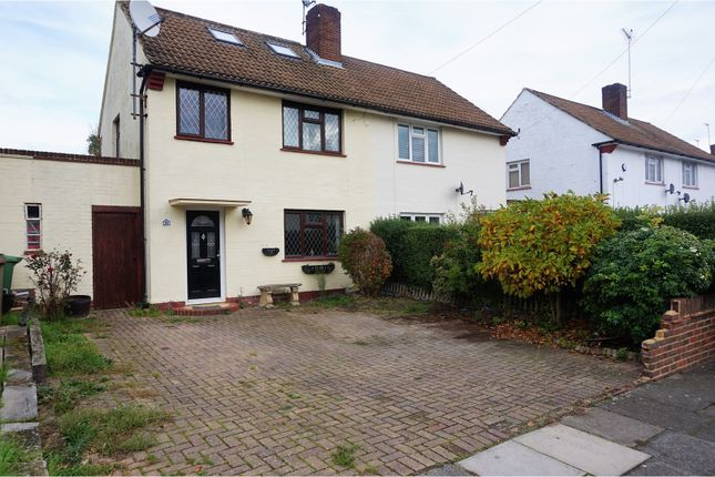 Thumbnail Semi-detached house for sale in Pembury Crescent, Sidcup