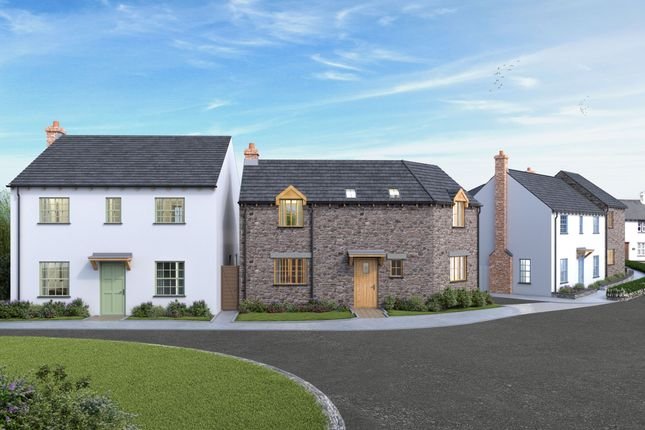 4 bed detached house for sale in New Homes Development, Marhamchurch, Cornwall EX23