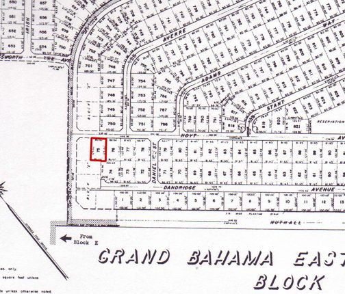 Land for sale in Deadman's Reef, Grand Bahama, The Bahamas
