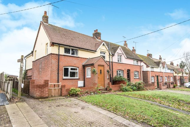 Thumbnail Semi-detached house for sale in Wignall Street, Lawford, Manningtree