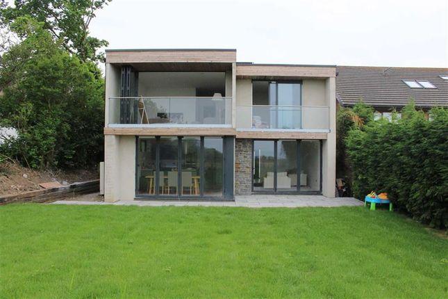Thumbnail Detached house for sale in Pentwyn, Gowerton Road, Three Crosses, Swansea