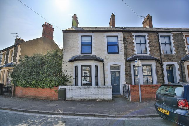 Thumbnail End terrace house for sale in Wyndham Road, Pontcanna, Cardiff