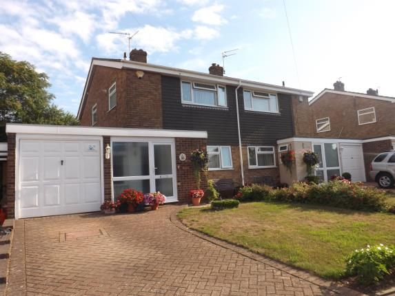 Thumbnail Semi-detached house for sale in Canon Close, Rochester, Kent, England