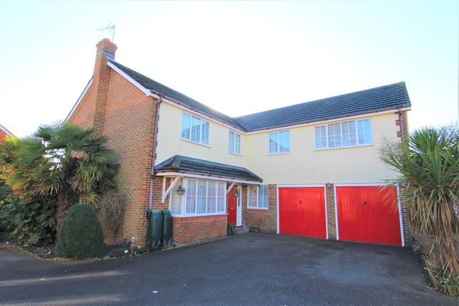 Thumbnail Detached house for sale in Pangdene Close, Burgess Hill, West Sussex