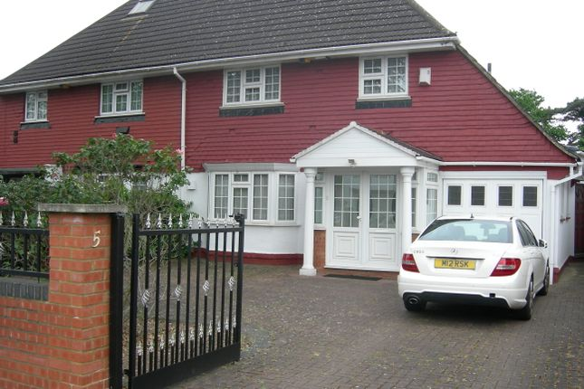 Thumbnail Semi-detached house for sale in Firs Drive, Hounslow