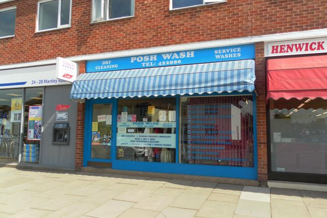 Thumbnail Retail premises for sale in 22 Martley Road, Worcester