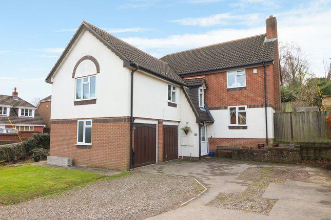 Thumbnail Detached house for sale in Bursledon Road, Hedge End, Southampton
