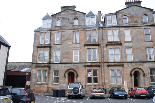 Thumbnail Flat for sale in George Square, Greenock