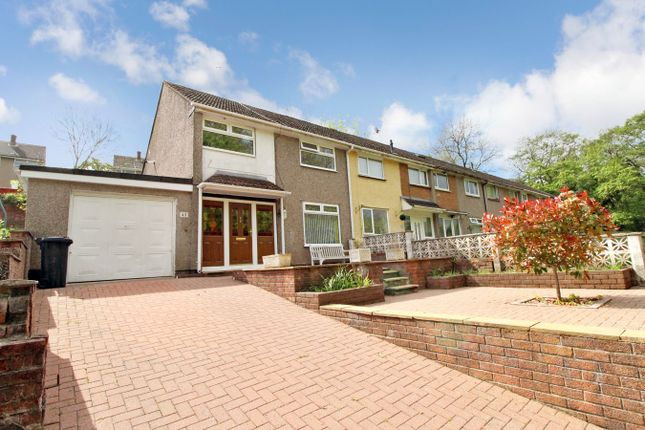 Thumbnail End terrace house for sale in Blackwater Close, Bettws, Newport