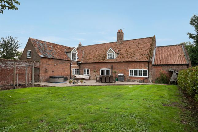 Thumbnail Farmhouse for sale in West Harling Road, East Harling, Norwich