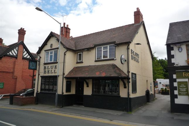 Thumbnail Pub/bar for sale in 4 The Highway, Hawarden