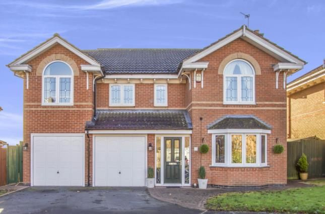 Thumbnail Detached house for sale in Yew Close, Leicester Forest East, Leicester, Leicestershire