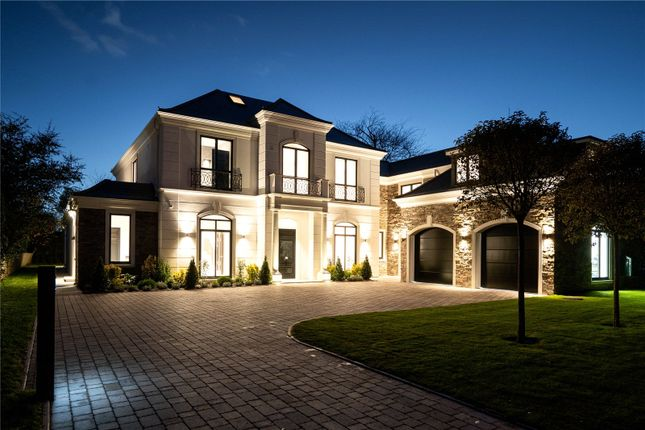 Thumbnail Detached house for sale in Icklingham Road, Cobham, Surrey