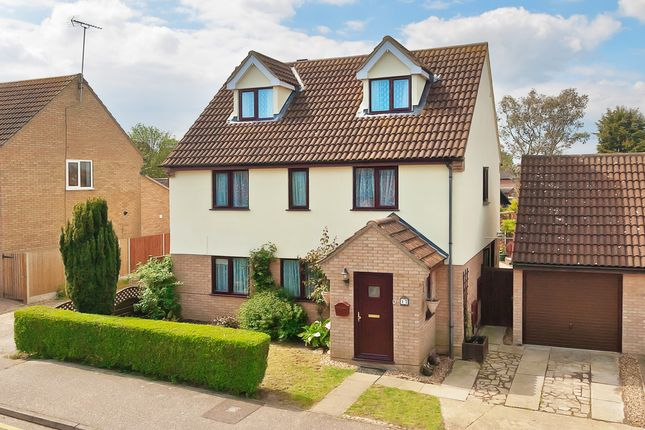 Thumbnail Detached house for sale in Turner Avenue, Lawford, Manningtree