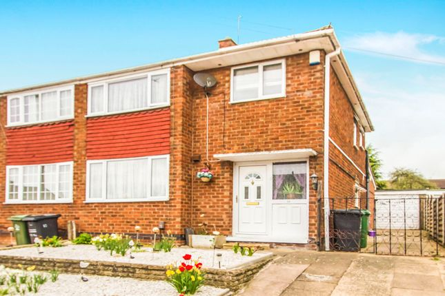 Thumbnail Semi-detached house for sale in Dovedale Road, Thurmaston, Leicester