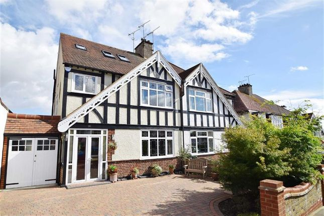 Thumbnail Semi-detached house for sale in Medway Crescent, Leigh-On-Sea, Essex