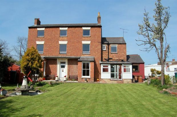 Thumbnail Detached house for sale in High Street, Wootton, Northampton
