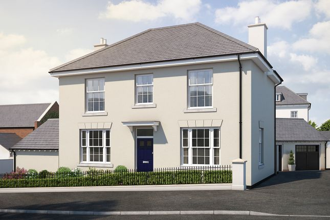 "Thumbnail Detached house for sale in ""The Lamerton"" at Haye Road, Sherford, Plymouth"