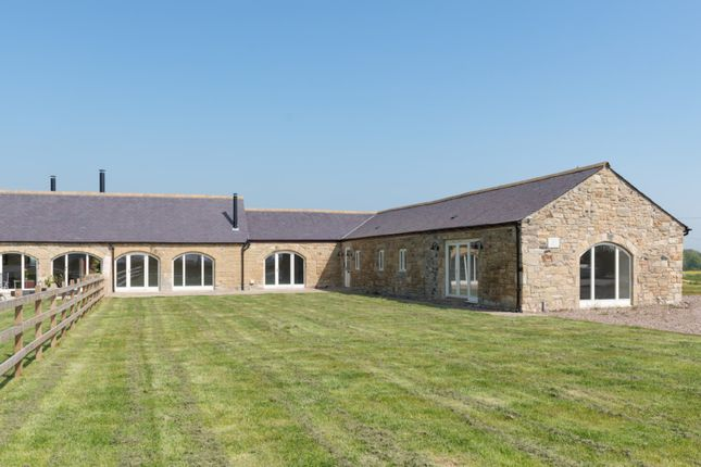 Thumbnail Barn conversion for sale in Cloverfield, Cavil Head Farm, Acklington, Northumberland