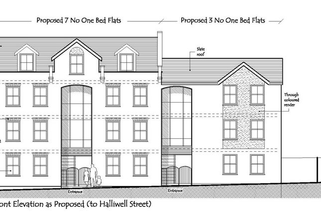 Thumbnail Land for sale in Halliwell Street, Chorley