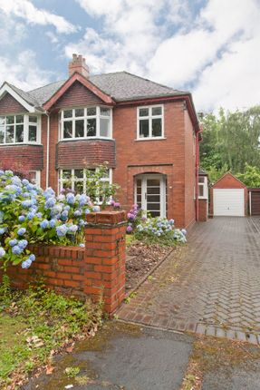 Semi-detached house for sale in Chester Crescent, Westlands, Newcastle-Under-Lyme