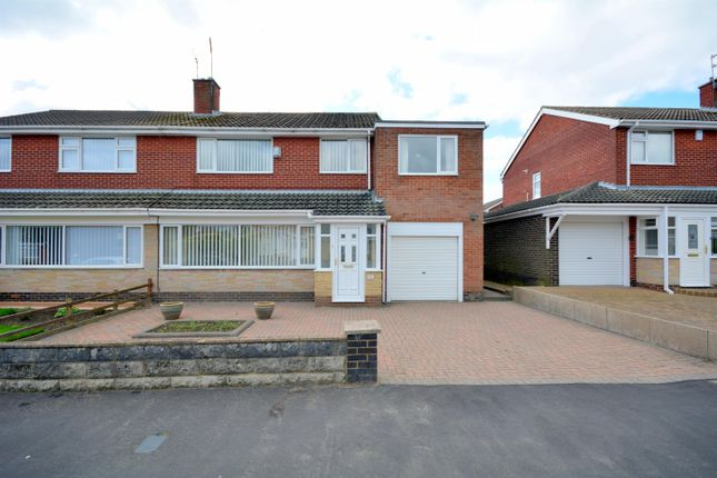 Thumbnail 5 bed semi-detached house for sale in Northumberland Avenue, Bishop Auckland