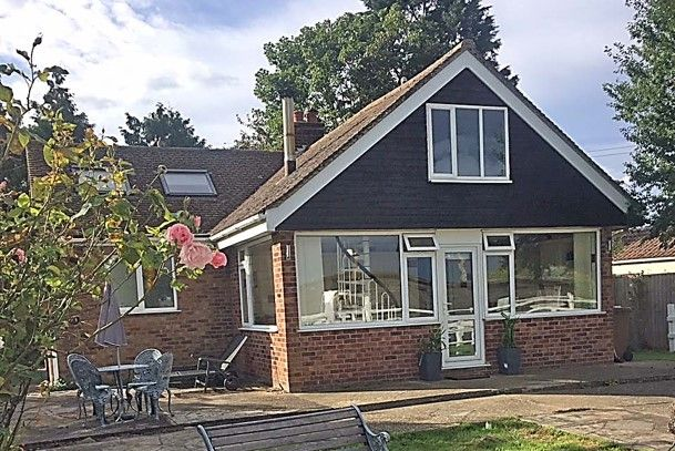 Thumbnail Bungalow for sale in Crooked Bank, South Brink, Wisbech