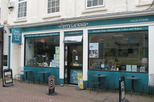 Thumbnail Restaurant/cafe for sale in Bank Street, Teignmouth
